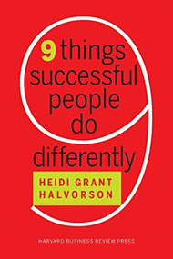 Nine Things Successful People Do Differently (Miniature Edition) - 9781633694132 by Heidi Grant Halvorson, 9781633694132