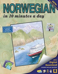 NORWEGIAN in 10 minutes a day (Language course for beginning and advanced study.  Includes Workbook, Flash Cards, Sticky Labels, Menu Guide, Software, Glossary, and Phrase Guide.  Grammar.  Bilingual Books, Inc. (Publisher)) by Kristine K. Kershul, 9781931873390