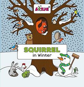 Squirrel in Winter by Lizelot Versteeg, 9781605373492
