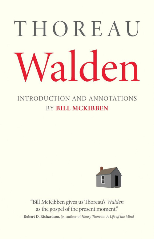 Walden: With an Introduction and Annotations by Bill McKibben by Henry David Thoreau, Bill McKibben, 9780807098134