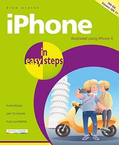 iPhone in easy steps (Covers iOS 11) by Drew Provan, 9781840787924