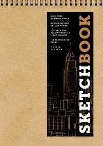 Sketchbook (Basic Medium Spiral Fliptop Landscape Kraft) by Sterling Publishing Co., Inc., 9781454931485