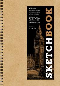 Sketchbook (Basic Medium Spiral Kraft) by Sterling Publishing Co., Inc., 9781454931492