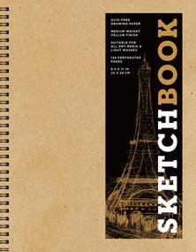 Sketchbook (Basic Large Spiral Kraft) by Sterling Publishing Co., Inc., 9781454931478