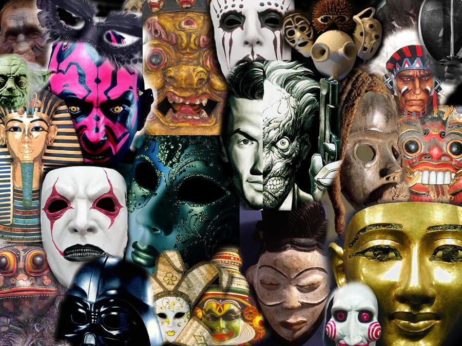 Natural Latex Masks