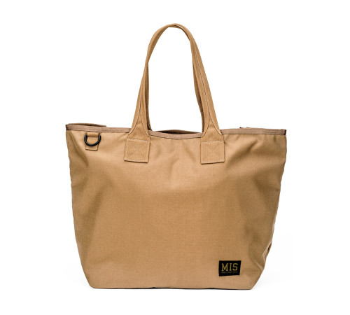 Tote Bag - Coyote Brown - Front