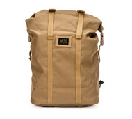 Roll Up Backpack - Coyote Brown - Front