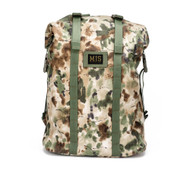 Roll Up Backpack - Covert Woodland - Front