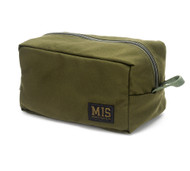 Mesh Toiletry Bag - Olive Drab - Front