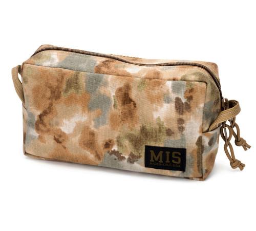 Slim Mesh Toiletry Bag - Covert Desert - Front