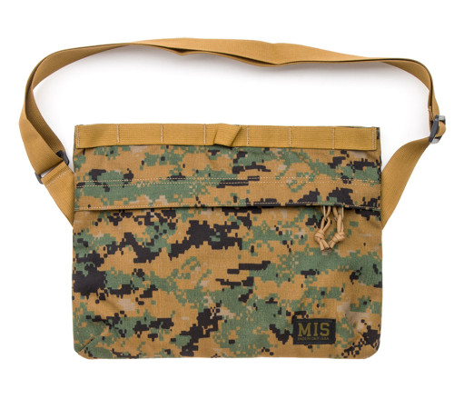 Padded Shoulder Bag - MarPat Woodland - Front