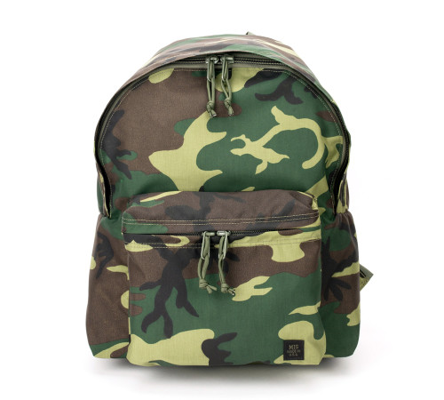 Daypack - Woodland Camo - Front