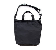 2Way Shoulder Bag - Black - Front