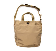 2Way Shoulder Bag - Coyote Tan - Front
