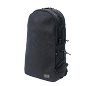 Mesh Backpack - Black - Front