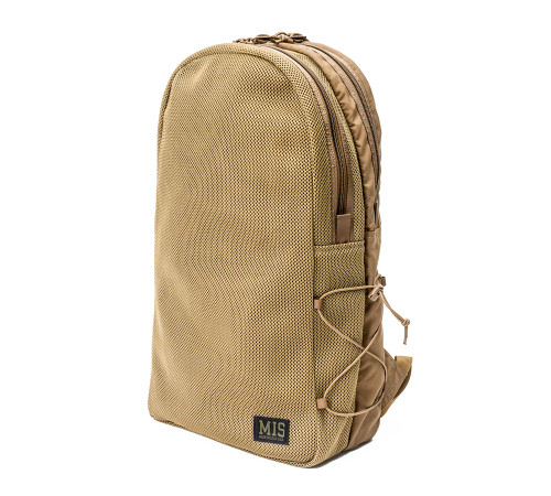 Mesh Backpack - Coyote Brown - Front