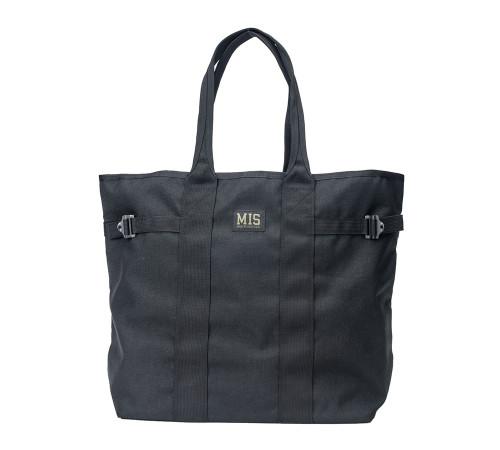 Multi Tote Bag - Black - Front