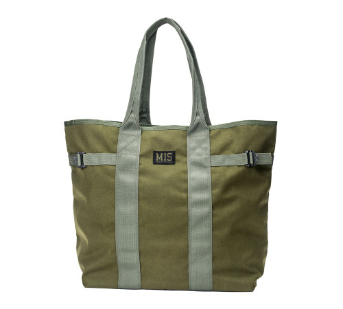 Multi Tote Bag - Olive Drab - Front