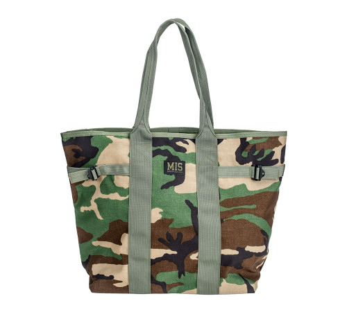 Multi Tote Bag - Woodland Camo - Front