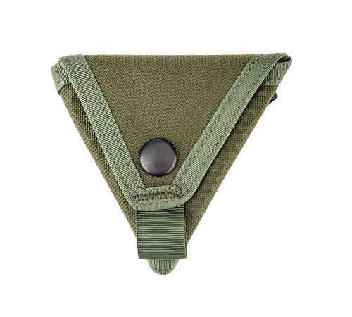 Coin Case - Olive Drab - Closed