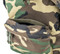 Daypack - Woodland Camo GORETEX - Hidden Pocket