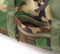Training Drum Bag Medium - Woodland Camo - Front  Pocket