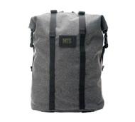 Roll Up Backpack - Denim Grey - Front