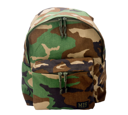 Daypack - Woodland Camo Cordura - Front