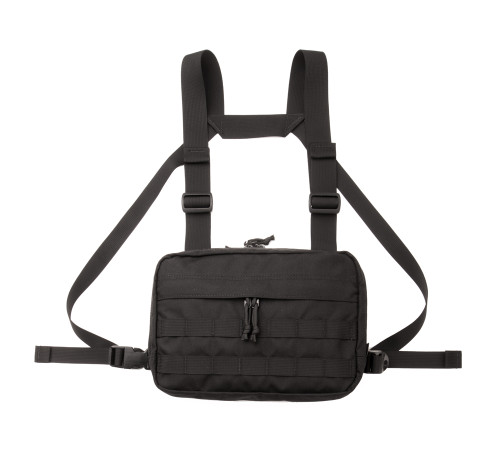 Chest Rig - Black - Front 1