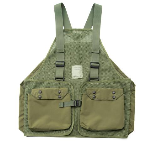 Hunting Vest - Olive Drab - Front