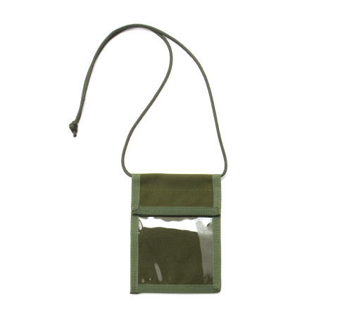 ID Passport Case - Olive Drab - Front