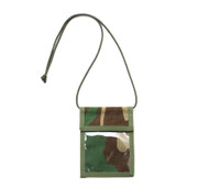 ID Passport Case - Woodland Camo - Front