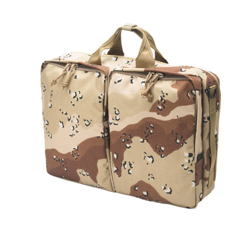 3 Way Brief Bag - Chocochip Desert Camo - Front
