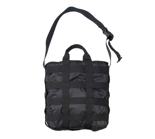 Tactical Carrying  Bag - Black - Front