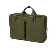 3 Way Brief Bag - Olive - Front
