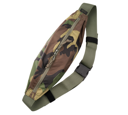 Body Bag - Woodland Camo - Front