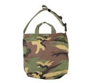 2Way Shoulder Bag - Woodland Camo - Front