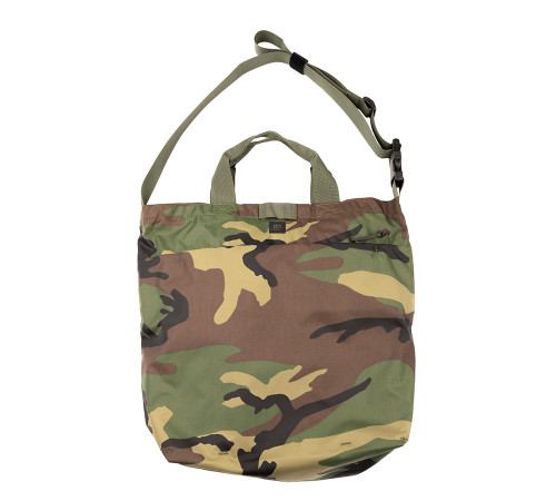 2Way Shoulder Bag - Woodland Camo - Front