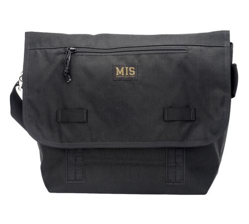 Messenger Bag - Black - Front