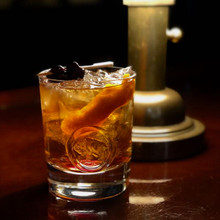 Buffalo Seal Crystal Double Old Fashioned- Pair