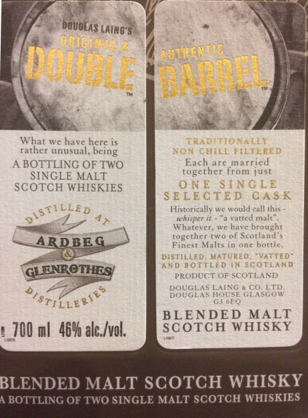 Double Barrel Ardbeg & Glenrothes