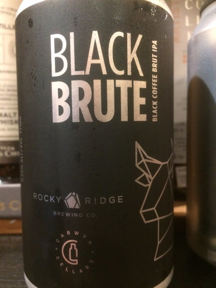 Black Coffee Brute IPA