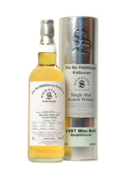 Signatory Glen Keith 19YO 1997