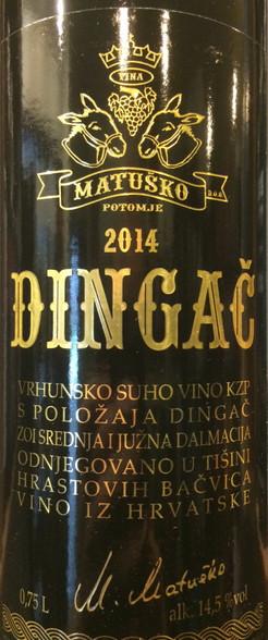 Matusko Dingac 2014