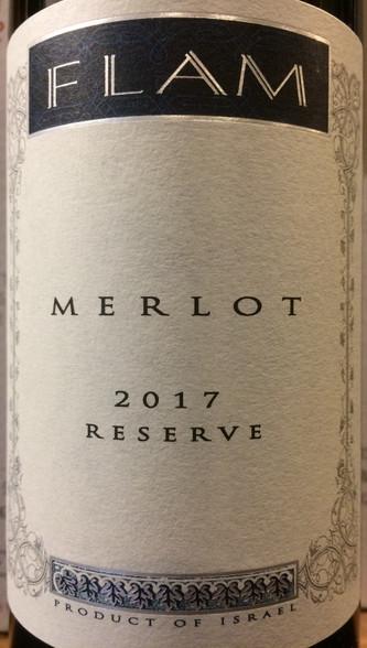 Flam Merlot Reserve 2017