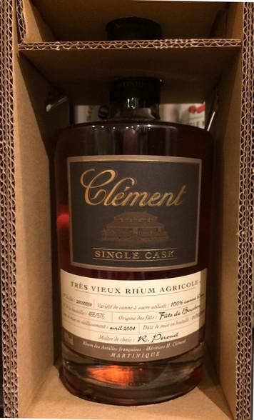 Clément Rhum Agricole Martinique Single Bourbon 100% Canne Bleue 11YO
