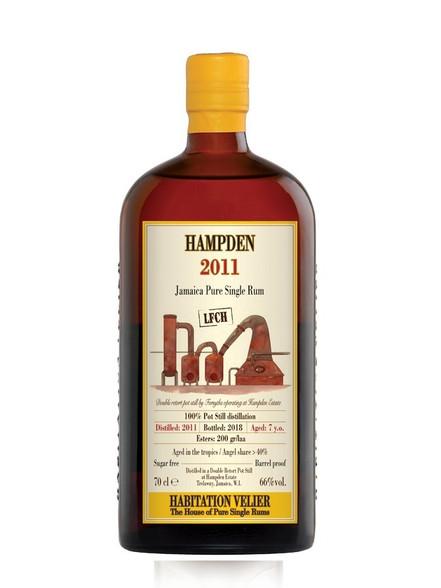 Hampden Overproof Jamaican Rum Habitation Velier LFCH 2011 7YO