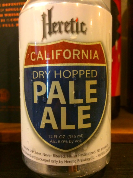Heretic California Dry Hopped Pale Ale