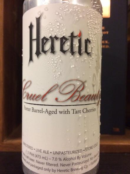 Heretic Cruel Beauty BA Sour Porter with Cherries