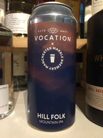Vocation Hill Folk IPA